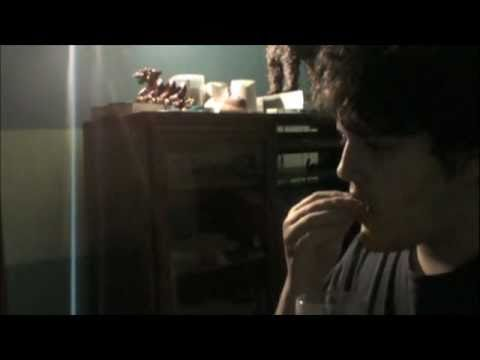 Jon Garcia Eating Cookies and Milk