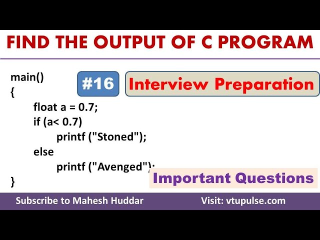 #16 Find the Output, Logical Operators, Conditional Statements, Campus Interview Preparation