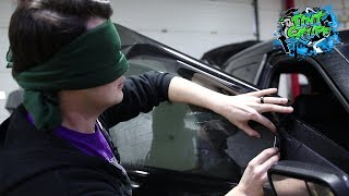 Bird Box Tint Challenge | Window tinting blindfolded