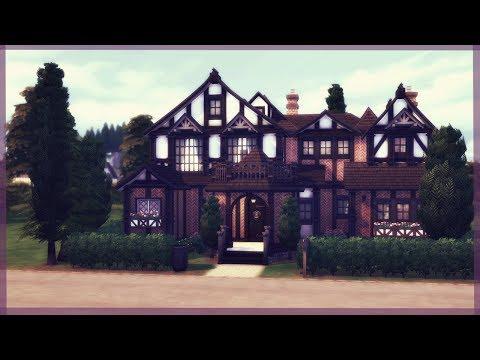 The Sims 4 House Build | Tudor Manor