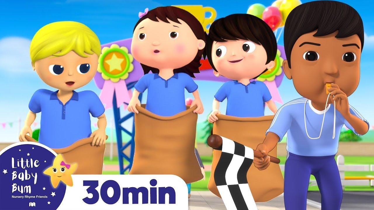 Sports Day Songs & MORE   Best Baby Songs   Kids Cartoon   Nursery Rhymes   Little Baby Bum