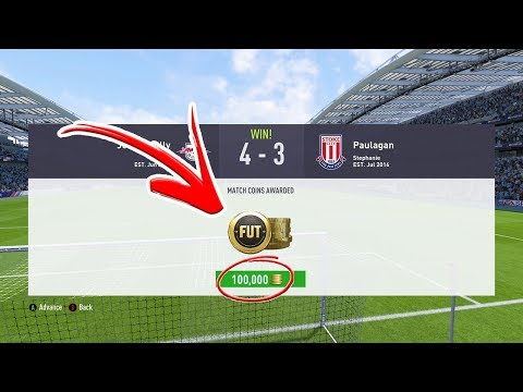 HOW TO GET 100K FOR FREE (FIFA 18 ULTIMATE TEAM)