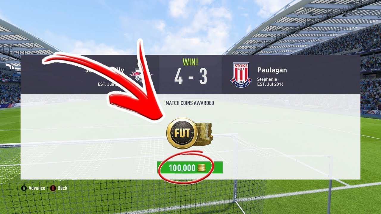 How To Get 100k For Free Fifa 18 Ultimate Team Youtube