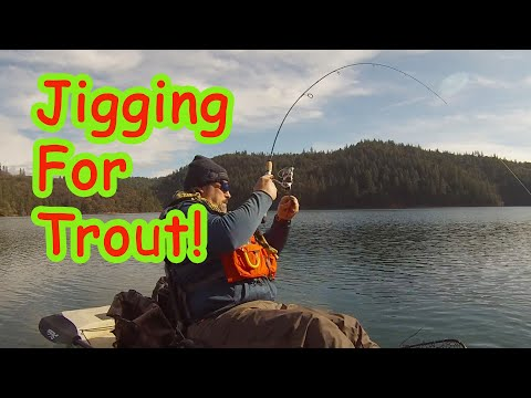 Jigging For Trout!