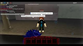 (Ro-Ghoul) Codes (ROBLOX) 2019