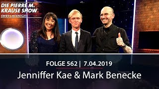 Die Pierre M. Krause Show vom 07.05.2019 mit Pierre M., Dr. Mark und Jenniffer