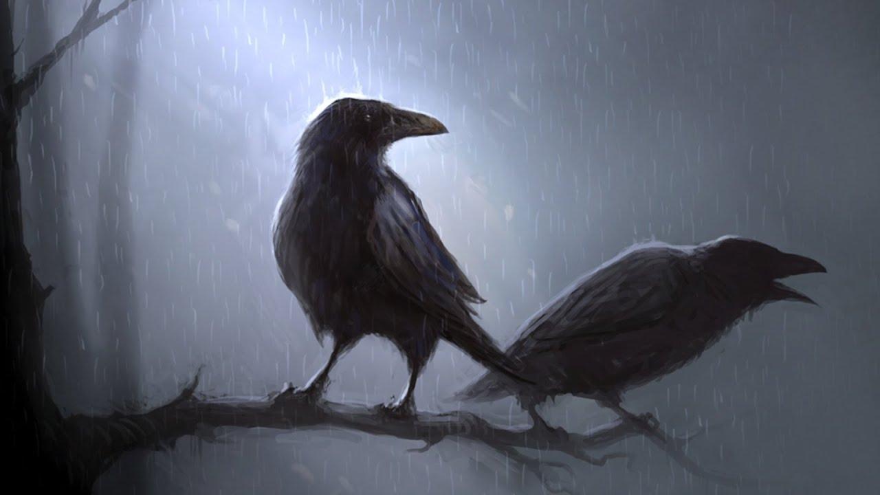 Ravens flying wallpaper - photo#51