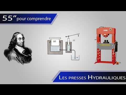 Le fonctionnement d'une presse hydraulique  - 55'' pour comprendre #2