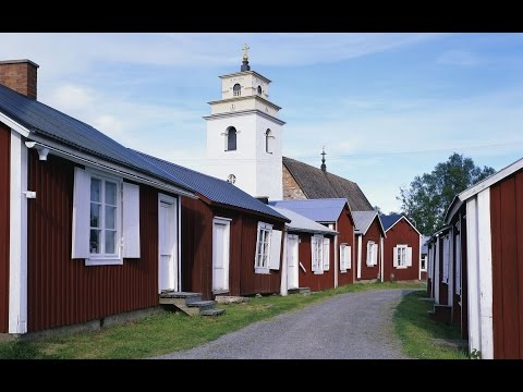Gammelstad. Church Town, Sweden