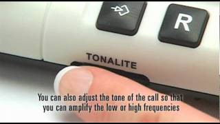 Amplified Corded Telephone with Volume & Tone control: CL1200