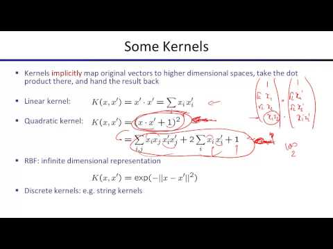 Lecture 23: Kernels and Clustering