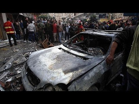 At least five dead in suspected suicide bomb attack in Beirut Hezbollah stronghold