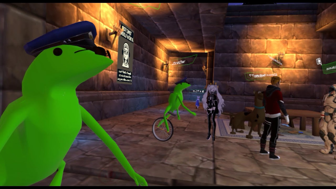 VRChat Avatars - here come dat boi