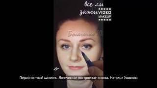 Уроки перманентного макияжа. Логическое построение эскиза
