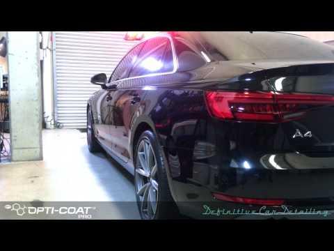 Audi A4 Definitive Sydney Opti Coat Spray Gun Permanent Paint Protection Treatment DefinitiveWeCare