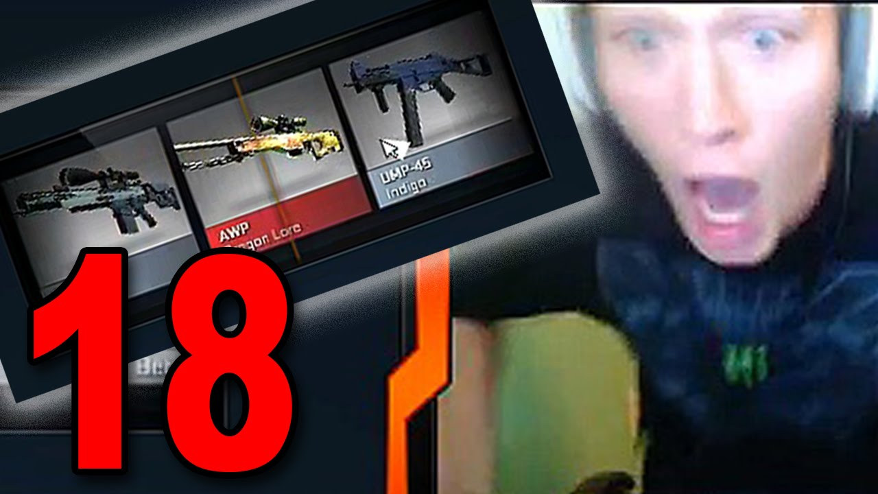 Csgo Case Opening Part 18 Dragon Lore And M4a1 S Knight 10x Cobblestone Case Opening