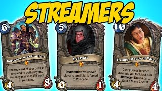 NEW Streamer Legendaries In Hearthstone (Fan Made)