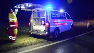 T / KU | Mehrfach überschlagen: schwerer Verkehrsunfall auf der B173 in Söll
