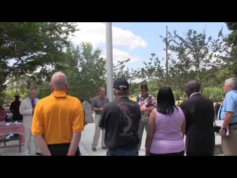 New Vietnam Memorial Dedication - Union SC 2015