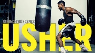 Usher Behind The Scenes