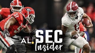 SEC Insider: An early look at Alabama vs Georgia in 2018 SEC Championship