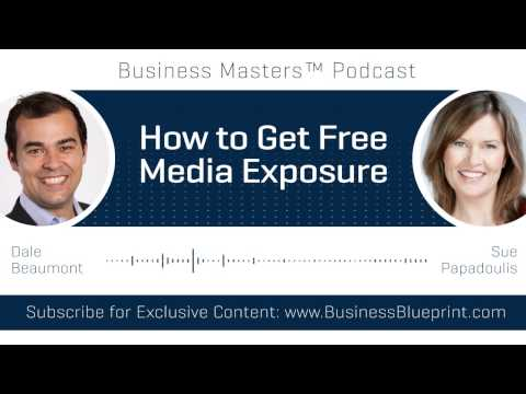 How to get Free Media Exposure | Sue Papadoulis