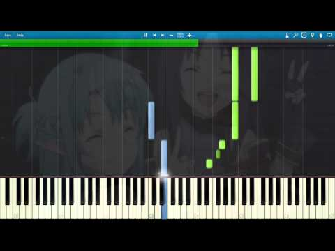 [Synthesia] Sword Art Online 2 BGM Episode 21 & 24 - You are not alone [Sword Art Online II]