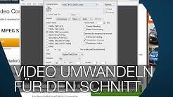 VIDEOS FÜR FLÜSSIGEN SCHNITT UMWANDELN mit MPEG STREAMCLIP