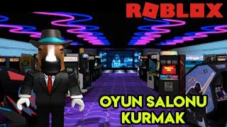 We're Building Our Own Game Room 🕹️ 🕹️ | Arcade Tycoon | Roblox English