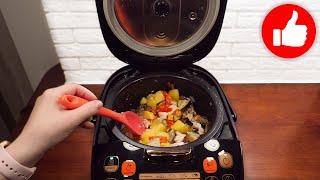 Минутный обед или ужин все смешал и в мультиварку Быстро и вкусно получается картофель с курицей
