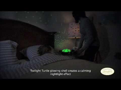 Cloud B Twilight Turtle Constellation Nightlight