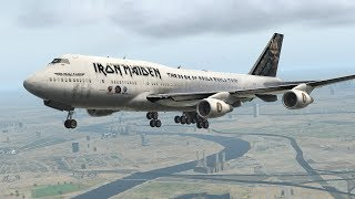LEPA - EGLL 747 into London| Join the discord in Desc