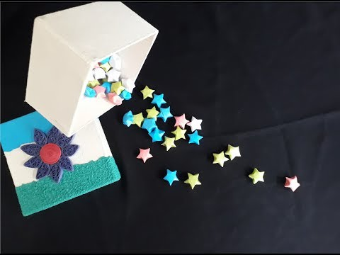 DIY: Puffy Stars Made of Paper