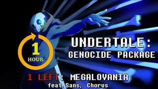 Скачать Undertale Genocide Package Megalovania One Hour