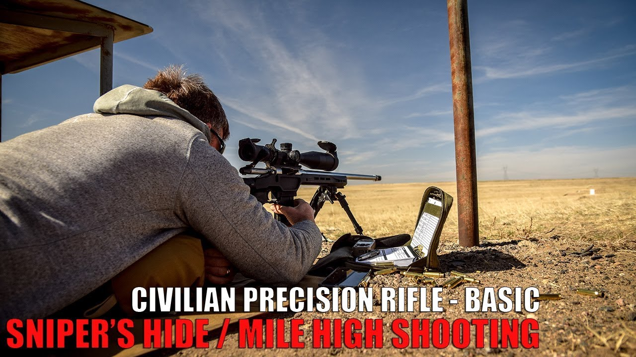 Sniper's Hide: Precision Rifle - Basic | Mile High Shooting - Tactiholics™