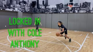 Locked In with Cole Anthony: Ball Handling Workout