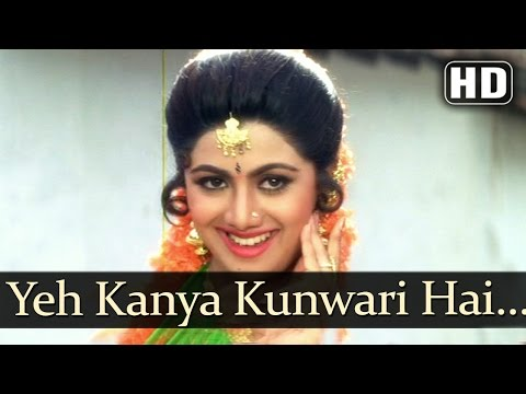Yeh Kanya Kunwari - Kadar Khan - Shilpa Shetty - Sadashiv Amrapurkar - Aag - Hindi Item Songs - Alka