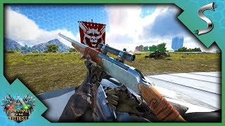 THE FUNNIEST VICTORY! LONGNECKS AND HERBIVORE ARMY! - Ark: Survival of the Fittest [SOTF Gameplay]