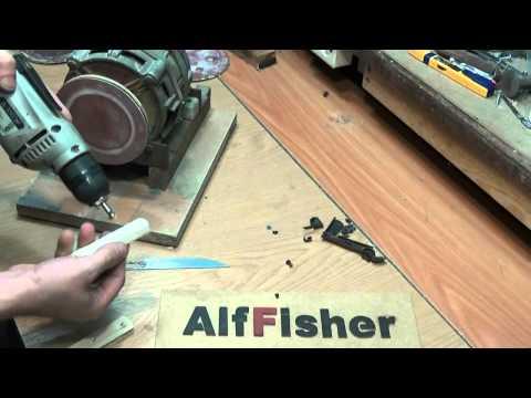 видео: #Как сделать. #рукоятку на #нож за 15 минут.