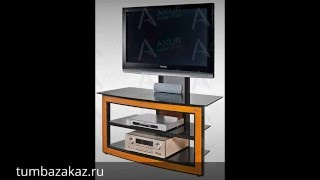 видео Стойка под телевизор Акур DECOLLO 3 с плазмастендом