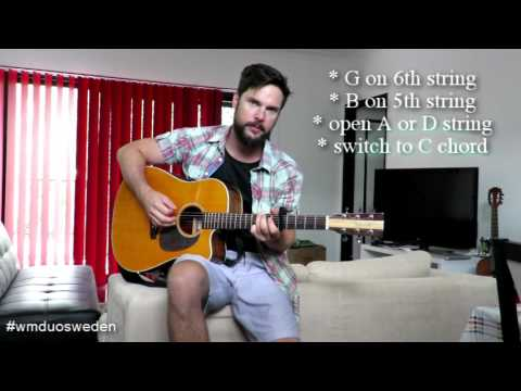 King of the World - First Aid Kit - Guitar Lesson, chords and how to play