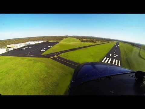 VOR-A Instrument Approach | Grass Landing | Flying with Dad