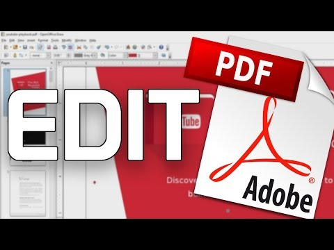 How To Edit A PDF On Windows, MacOS, And Linux!