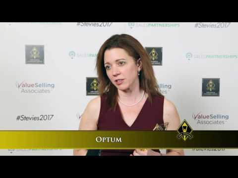 Optum wins a Stevie® Award in the 2017 Stevie Awards for Sales ...