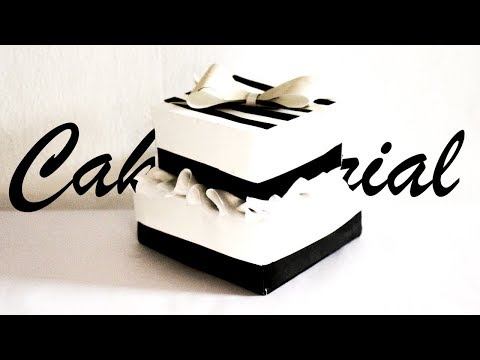 How to make a cake out of paper | Easy Craft idea for Mother's Day