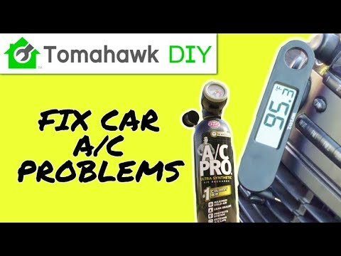 How to Fix AC in Car That's Blowing Hot Air (EASY & Cheap AC Recharge)