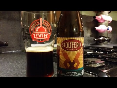Brasserie De La Senne Stouterik The Brussels Stout | Belgian Craft Beer Review