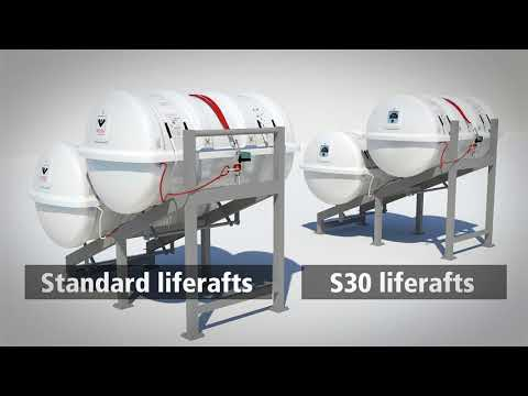 VIKING S30 Liferafts With Extended Service Interval