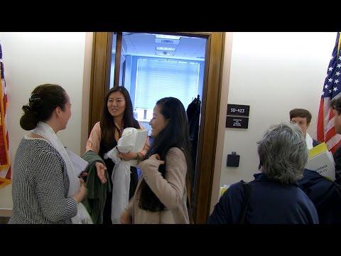 བོད་དོན་ཞུ་གཏུག་གི་ལས་འགུལ། Tibet Lobby day, Washington DC -Day 1