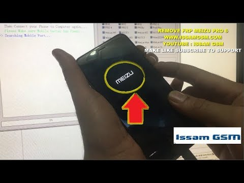 Meizu PRO 6 Hard Reset remove password AND FRP With MRT-Dongle